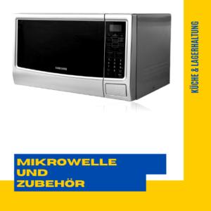 Mikrowelle und Zubehör