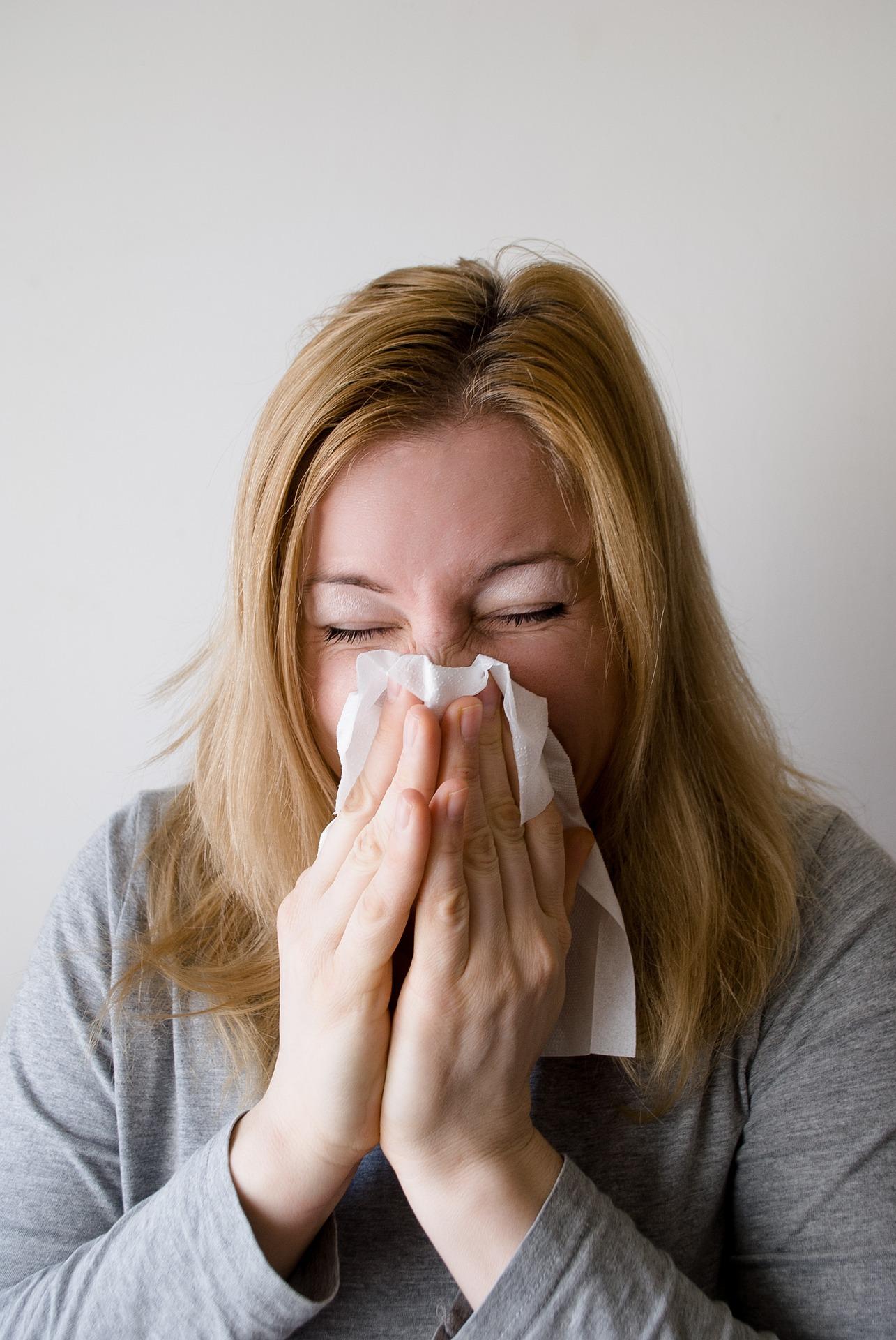Hausstauballergie Symptome